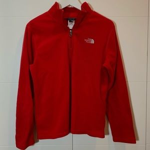 super soft north face pull over